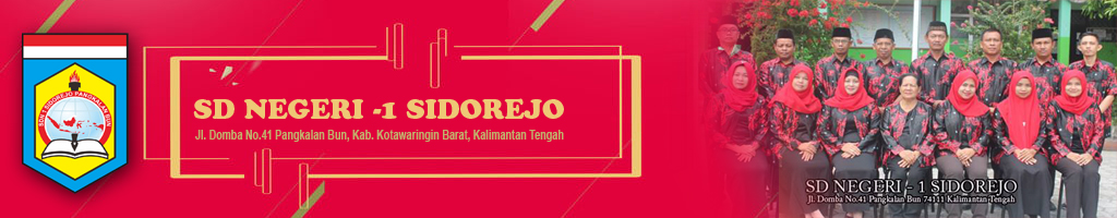 Website SDN 1 Sidorejo